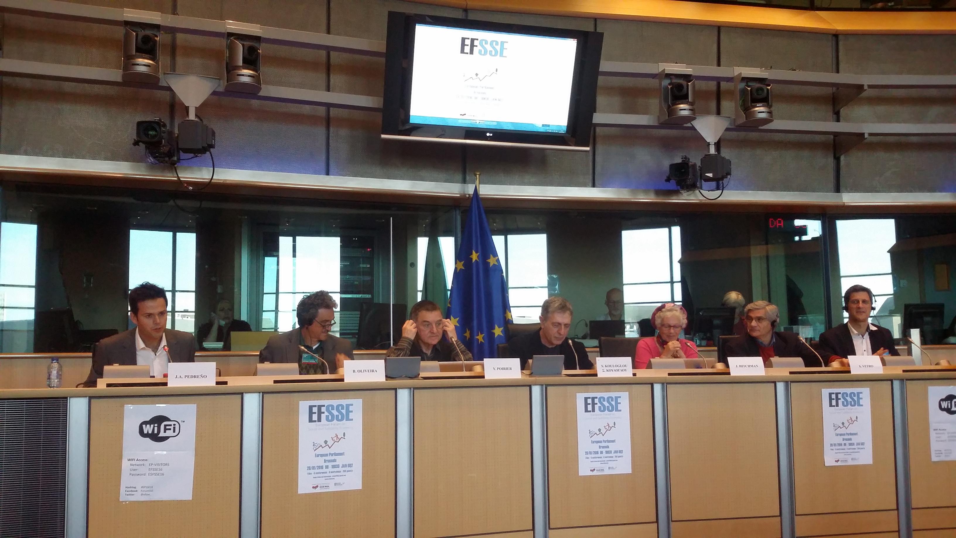 La Izquierda Unitaria del Parlamento Europeo apuesta por la Economía Social y Solidaria