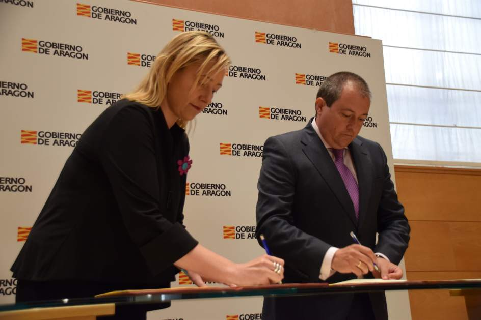 Gobierno de Aragón y SODIAR crean un Fondo de Apoyo a las Empresas de Economía Social aragonesas
