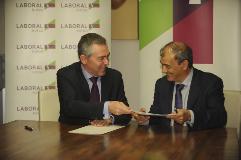 LABORAL KUTXA Y CEPES renuevan el convenio para financiar a las empresas de Economía Social