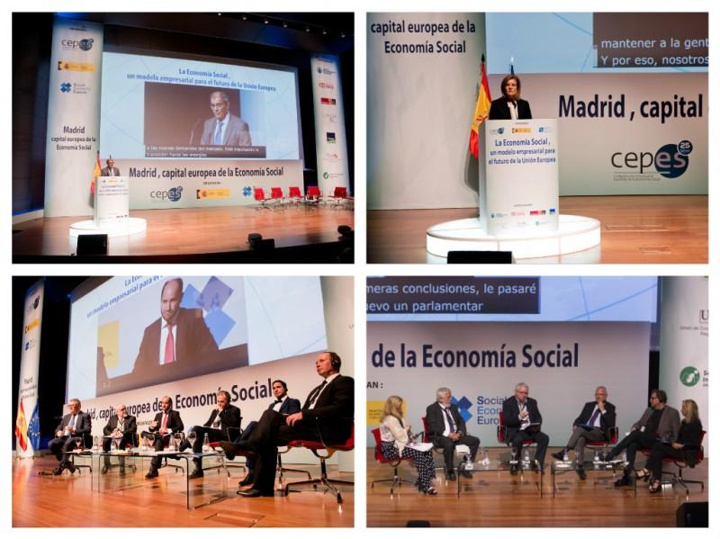 La Cumbre de Madrid reivindica la necesidad de un Plan de Acción europeo para la Economía Social