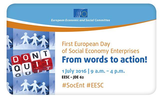 21 de junio 2º Día Europeo de las Empresas de Economía Social